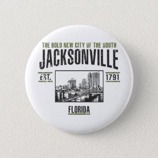 Jacksonville Runder Button 5,1 Cm