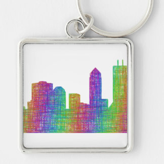 Jacksonville-Skyline Schlüsselanhänger