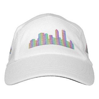 Jacksonville-Stadt-Skyline Headsweats Kappe