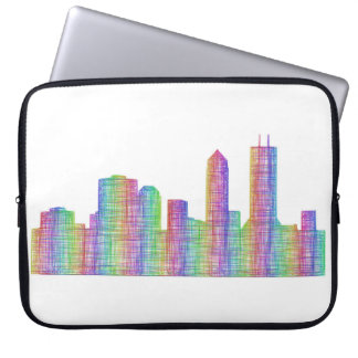 Jacksonville-Stadt-Skyline Laptopschutzhülle