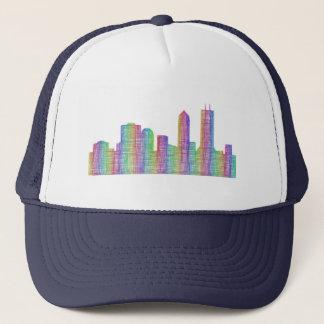 Jacksonville-Stadt-Skyline Truckerkappe