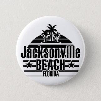 Jacksonville-Strand Runder Button 5,7 Cm