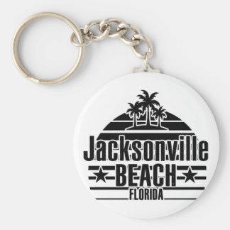 Jacksonville-Strand Schlüsselanhänger