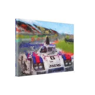 JACKY's 936 - Digital Artwork Jean-Louis Glineur Leinwanddruck