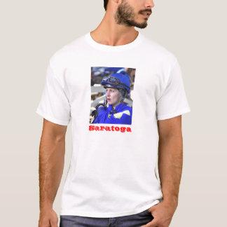 Jacqueline Davis, das sehr überzeugt schaut T-Shirt