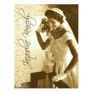 Jacqueline Kennedy, das ihren Postkarte