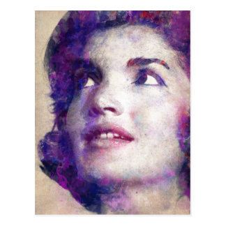 Jacqueline Kennedy Onassis Postkarte