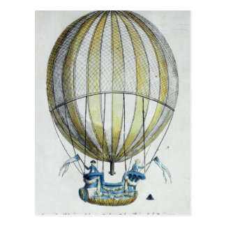 Jacques Charles und Ballon Nicholas Roberts Postkarten