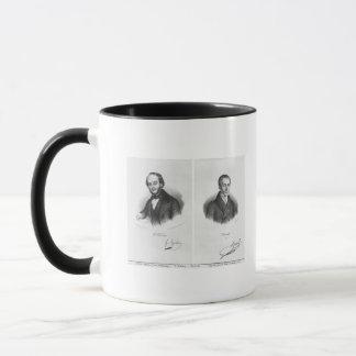 Jacques Fromental Halevy und Ferdinand Herold Tasse