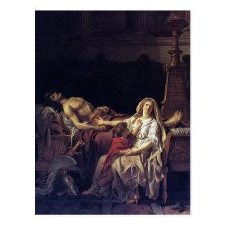 Jacques-Louis David die Schmerz von Andromache Postkarte