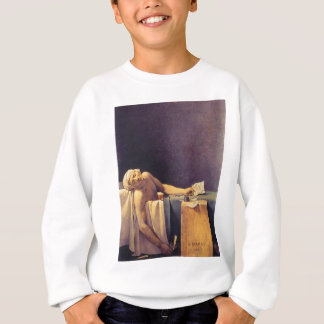 Jacques-Louis David-Tod von Marat Sweatshirt