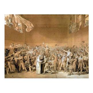 Jacques-Louis - Tennisplatz-Eid, am 20. Juni 1789 Postkarte