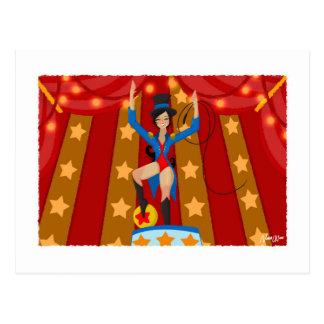 Jade der Zirkus-Direktor Postkarte