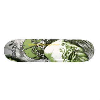 Jade Frost Personalisiertes Skatedeck