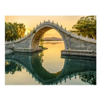 Jade-Gurt-Brücke - Peking-China Postkarte
