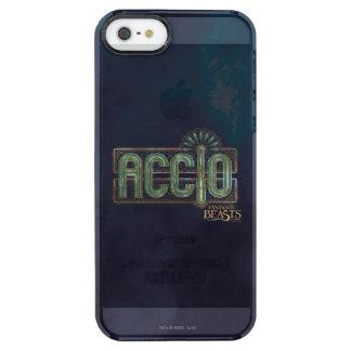 Jade-Kunst-Deko Accio Bann-Grafik Durchsichtige iPhone SE/5/5s Hülle