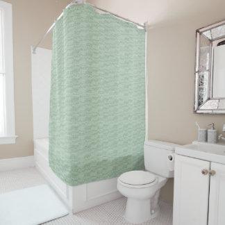 """'Jade-Shadow_Shower-Curtain"""" - empfindlich u. Duschvorhang"""