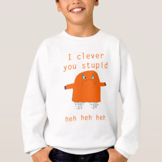 Jaffacake Monster sagt Sweatshirt