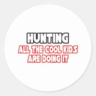 Jagd… der coolen Kinder Sticker