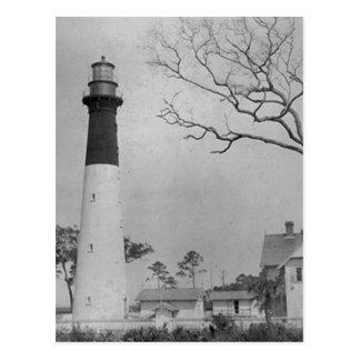 Jagd-Insel-Leuchtturm Postkarte