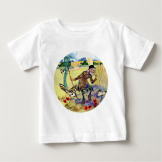 Jagd-Schmetterlinge im Märchenland Baby T-shirt