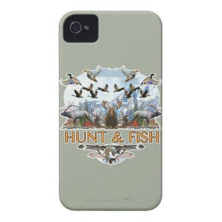 Jagd und Fische iPhone 4 Case-Mate Hüllen