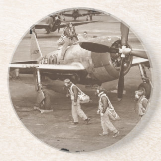 Jagdflieger, die auf Thunderbolts P-47 ausbilden Untersatz