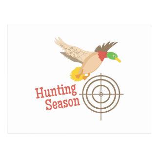 Jagdsaison Postkarte