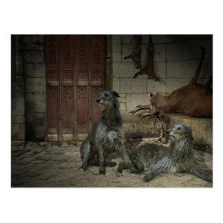 Jagdszene: die Beute (Teil. 3) Postkarte