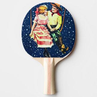Jagen des Mondes Tischtennis Schläger