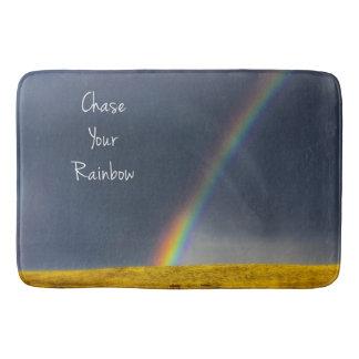 Jagen Sie Ihre Regenbogen-inspirierend Bad-Matte Badematte