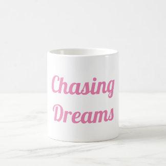 Jagen von Träumen Kaffeetasse