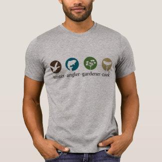 Jäger-Angler-Gärtner-Koch-T - Shirt
