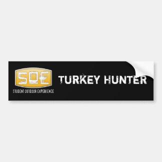 Jäger-Aufkleber des Team-SOE die Türkei Autoaufkleber