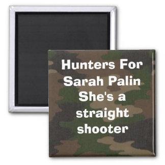 Jäger für Palin Scharfschütze-Magneten Quadratischer Magnet