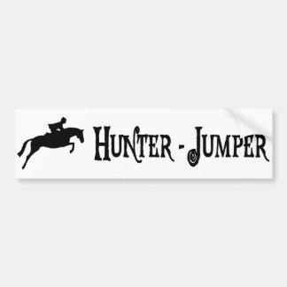 Jäger-Pullover (Piratenart) Autoaufkleber