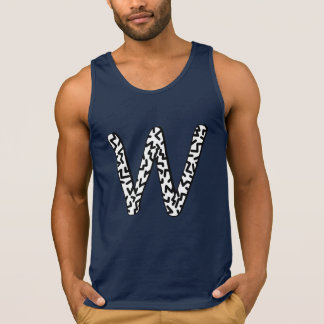 Jaggy W Tank Top