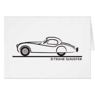 Jaguar 1948 120 karte