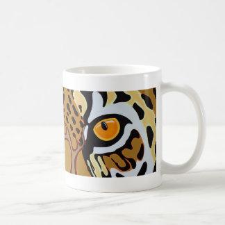 Jaguar-Augen Kaffeetasse