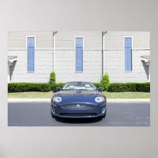 Jaguar-Auto-Plakat Poster