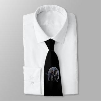 Jaguar-Diablo-Geschäfts-Krawatte (2-sided) Krawatte