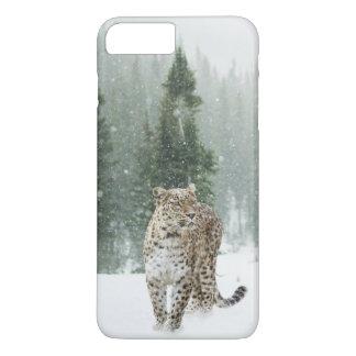 Jaguar im Schnee iPhone 8 Plus/7 Plus Hülle