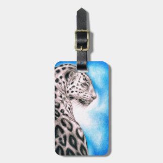 Jaguar-Kunst Gepäckanhänger