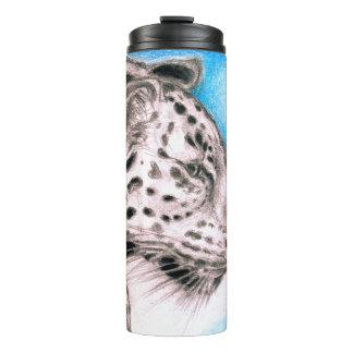 Jaguar-Kunst Thermosbecher