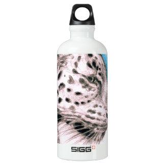 Jaguar-Kunst Wasserflasche