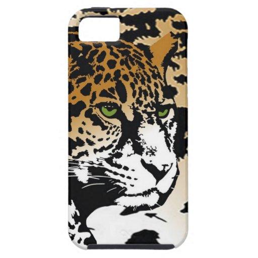 Jaguar-Leopard-Druck Iphone Fall-Panther iPhone 5 Hüllen