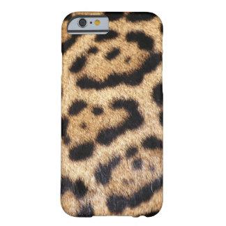 Jaguar-Pelz-Foto-Druck Barely There iPhone 6 Hülle
