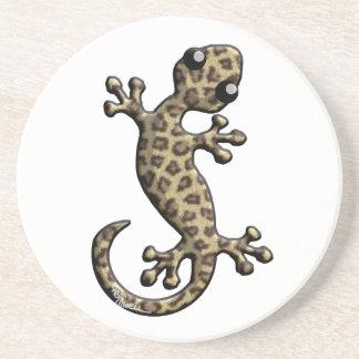 Jaguar-Pelz-kletternde Eidechse Untersetzer