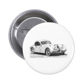 Jaguar Runder Button 5,7 Cm