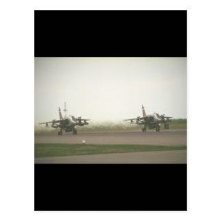 Jaguar-taking-off_Military Flugzeuge Postkarte